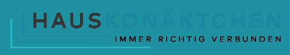 Hauskonäktchen Logo